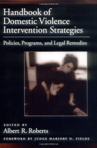 Handbook of Domestic Violence Intervention Strategies:...