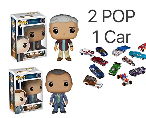 Funko POP! Tomorrowland:YOUNG FRANK WALKER and DAVID NIX Toy Action Figures Plus 1 Diecast model Metal cars Random - 2 POP 1 Diecast Model Metal Cars Random. Best Gift Bundle