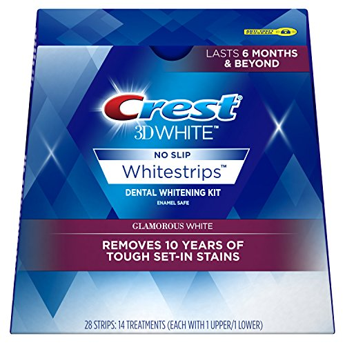 Crest 3D White Luxe Whitestrip Teeth Whitening Kit, Glamorous White, 14 Treatments - Packaging May Vary (Crest Whitening Advanced Seal compare prices)