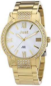 Just Watches Damen-Armbanduhr Analog Quarz Edelstahl 48-S1229-GD