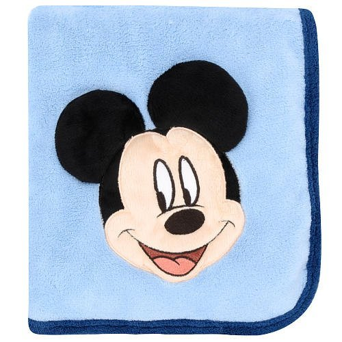 Disney Mickey Mouse 3D Toddler Blanket