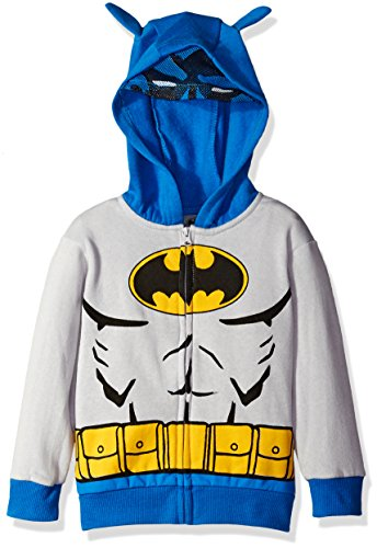 Warner Brothers Little Boys' Batman Costume Hoodie at Gotham City Store