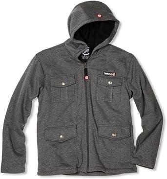 ecko unltd. Big Boys' Hooded Jacket, Grey, Small