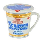 カネミ美和 日清カップヌードル シーフード 蓋付きマグカップ