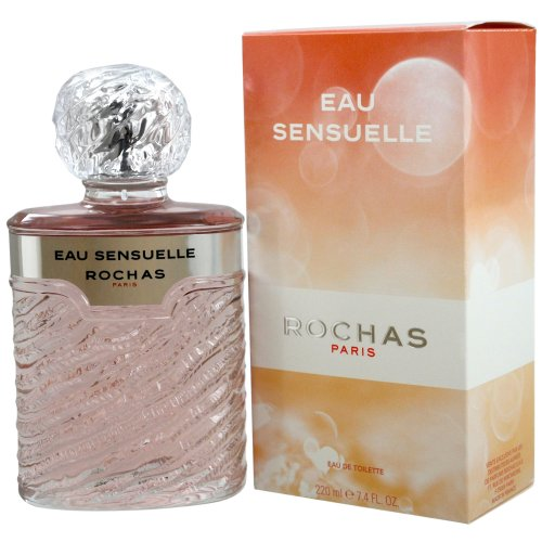 Rochas Sensuelle Eau de Toilette for Women, 7.5 Ounce