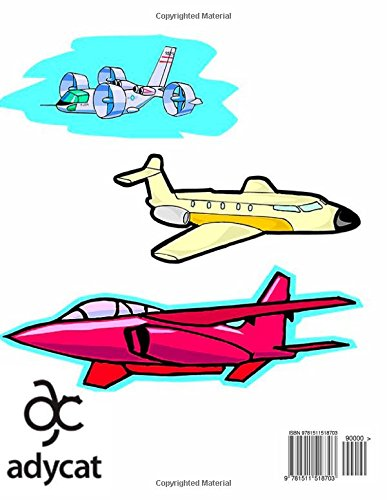 Christopher's Airplane Coloring Book: High Quality Personalized Coloring Book