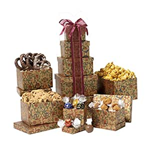 Broadway Basketeers Thinking of You Gift Tower
