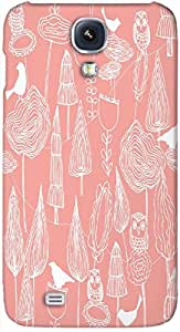 Timpax protective Armor Hard Bumper Back Case Cover. Multicolor printed on 3 Dimensional case with latest & finest graphic design art. Compatible with Samsung I9500 Galaxy S4 Design No : TDZ-25494
