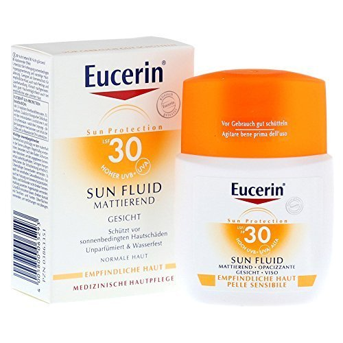 Eucerin sun fluid opacizzante 30 viso