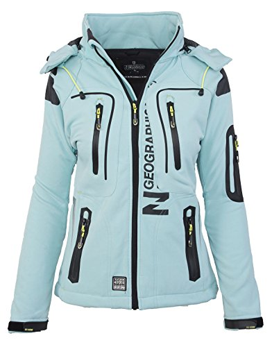 Geographical Norway Damen Softshell Funktions Outdoor Regenjacke
