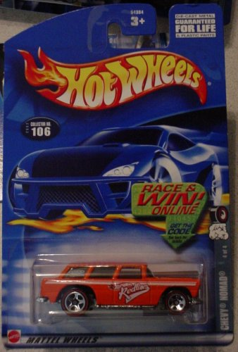 Hot Wheels Chevy Nomad 4/4 Redline 202 #106 - 1