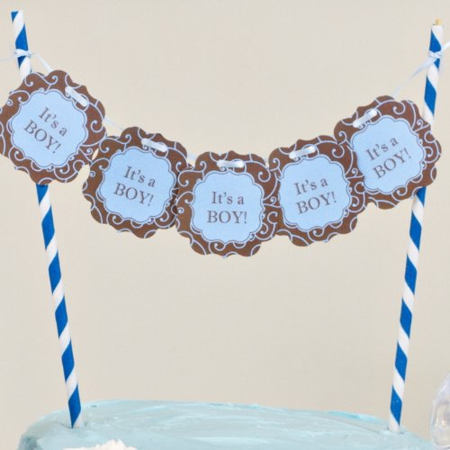 """Bella Cupcake Couture """"It'S A Boy"""" Itty Bitty Banner front-5910"""
