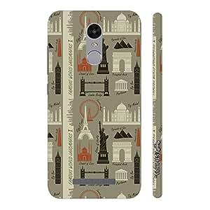 Enthopia Designer Hardshell Case Wonderland Back Cover for Xiaomi Redmi Note 3