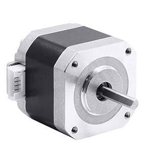 Z.L.FFLZ 3D Printer Parts 40mm 17 Stepper Motor 42 Motor Nema 17 Motor 42BYGH 1.7A (17HS4401) Motor 4-Lead for 3D Printer