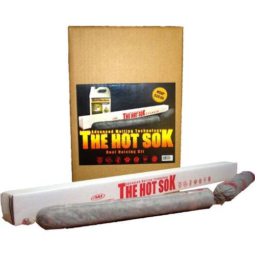 Advanced Seasonal Innovations HSRD001 2-Pack Hot Sok Roof Deicer, 24-Inch