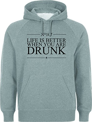 Life Is Better When You Are Drunk XXL Unisex Hoodie