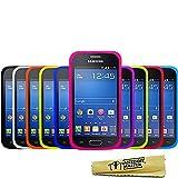 Accessory Master Pack de 10 Housses en silicone pour Samsung Galaxy Trend Lite S7390 Multicolore