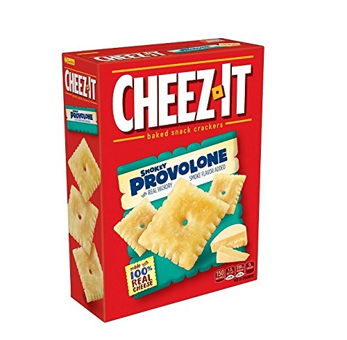 Cheez-It Crackers, Smokey Provolone, 12.4 Ounce