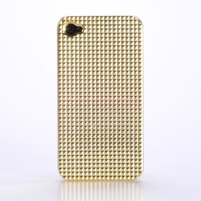 iphone 4 case Silikon Huelle Case Cover f. iPhone 4G Wasserwuerfel #390 mit Displayfolie Folie