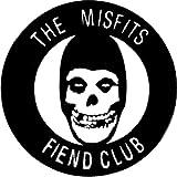 """The Misfits - Fiend Club Logo (Skull) - 1"""" Button / Pin"""