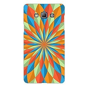 Designer Phone Case Cover for SamsungA5 Colourful Flower