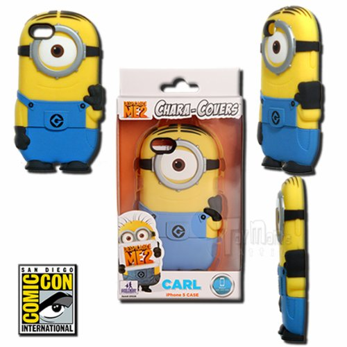 Best Price Despicable Me 2 Chara-Cover Minion Carl iPhone 5 Phone Case - 2013 SDCC Exclusive by Huckleberry