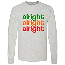 Alright Alright Alright Retro long sleeve T-Shirt