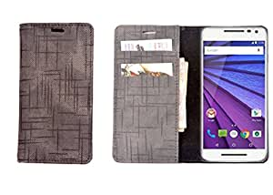 R&A Pu Leather Wallet Case Cover For Apple iPhone 4 / 4s