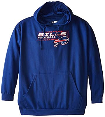 NFL Buffalo Bills Screen Printed Pull Over Hood