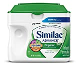 Similac Organic Powder, 23.2-Ounces (Pack of 6) (Packaging May Vary)