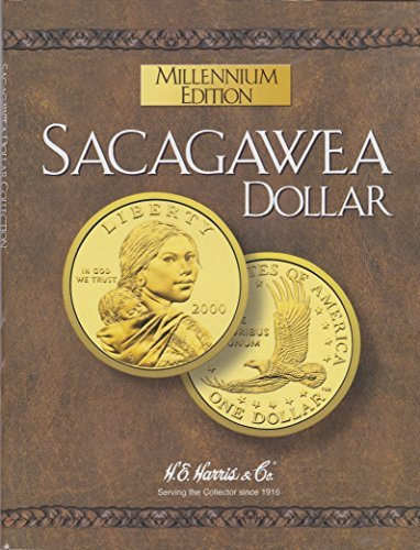 SACAGAWEA 2000 MILLENNIUM EDITION GOLDEN DOLLAR NEW ALBUM-BOOK-FOLDER-HOLDER - 1