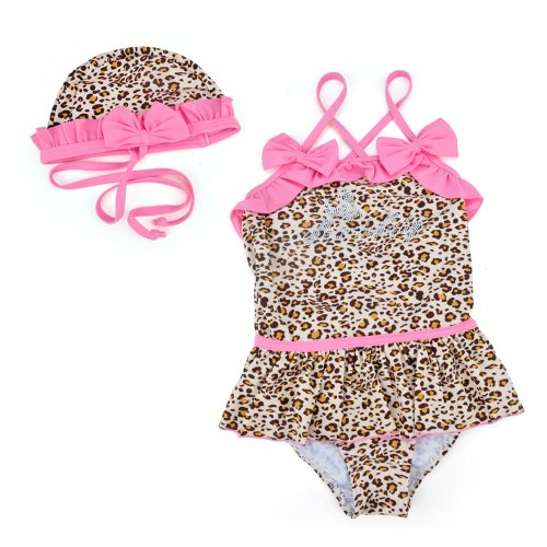 Toddler Swimsuit Leopard One Piece Swimwear