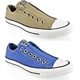 CONVERSE ALL STAR CHUCK TAYLOR SLIP ON 142350 142351F LO TOP TRAINERS SHOES SIZE