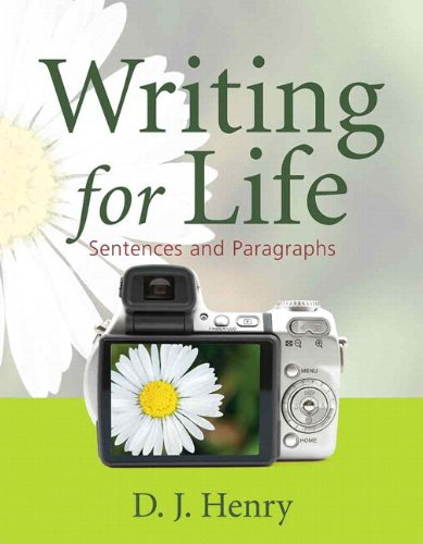 Writing for Life: Sentences and ParagraphsPlus NEW MyWritingLab with eText -- Access Card Package