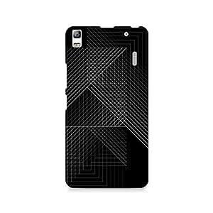 TAZindia Printed Hard Back Case Cover For Lenovo A7000