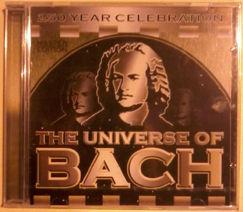 The Universe of Bach by Johann Sebastian Bach, Helmut Winschermann, Vasil Kazandjiev, Max Pommer and German Bach Soloists