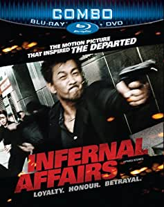 Infernal Affairs [Blu-ray + DVD]