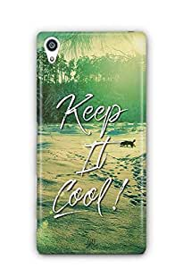 YuBingo Keep It Cool Designer Mobile Case Back Cover for Sony Xperia Z5 Premium