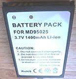 Battery GPS Medion MDPNA 100, MDPNA 100-t, MD95025, PPC100, Li-ion, 1500 mAh