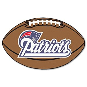 Buy FANMATS NFL New England Patriots Nylon Face Football Rug by Fanmats