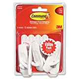 Command 17001-VP-6PK Medium Hooks Value Pack