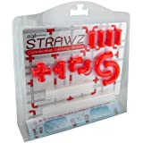 NUOP Connectable Drinking Straws Red