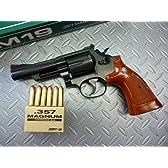 発火モデルガン S&W M19 4インチ スタンダードブラックモデル メガヘビーウエイト MHW No.398 コクサイ
