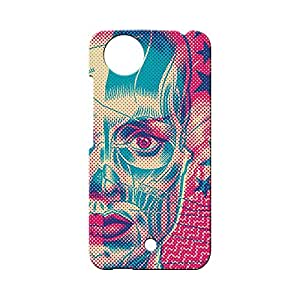 BLUEDIO Designer Printed Back case cover for Micromax A1 (AQ4502) - G1634