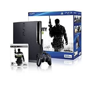 PlayStation 3 320GB CALL OF DUTY MW3 Bundle