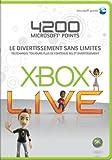 echange, troc Carte Xbox 360 Live 4200 Pts