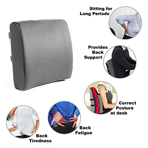 Office Chair Back Support Cushion