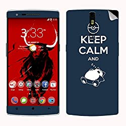 Theskinmantra Keep Kalm SKIN/STICKER for OnePlus One
