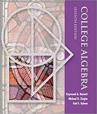College Algebra by Barnett