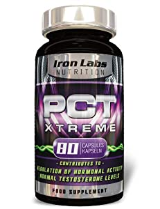 PCT Xtreme: Post Cycle Support & Testosterone Booster (80 Capsules)